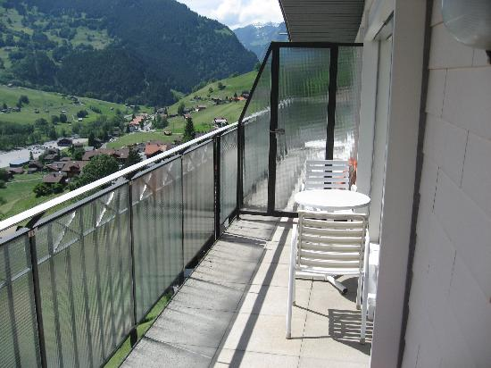 Belvedere Swiss Quality Hotel: Balcony