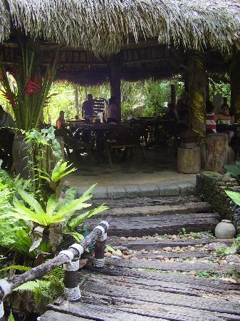 Somkiet Buri Resort: Restaurant