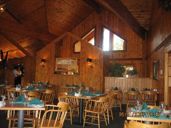 Kenai Princess Wilderness Lodge: Restaurant at Kenai Princess Lodge