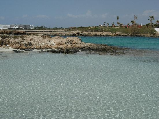 Nissi Beach Resort: spiaggia