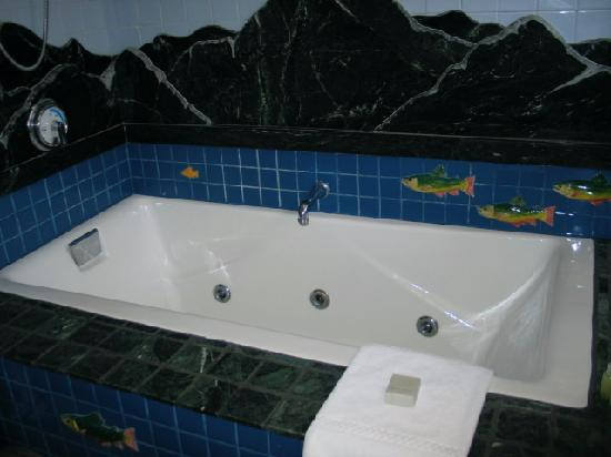Pitcher Inn: Jacuzzi Tub in Trout Room