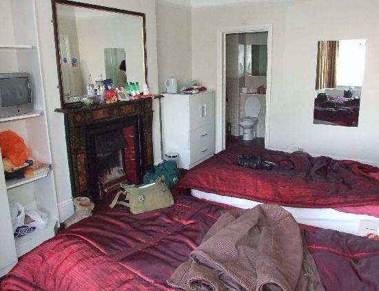 Stoke House: Bedroom