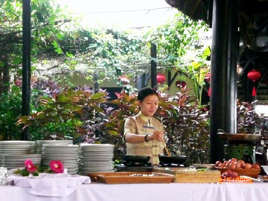 Phu Thinh Boutique Resort & Spa: free buffet breakfast