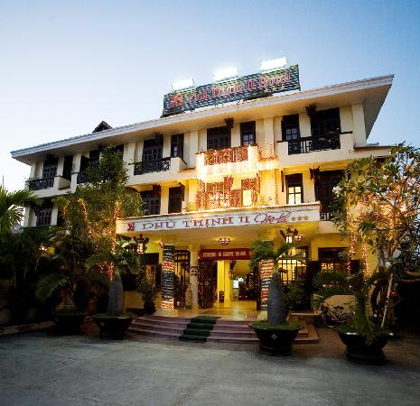 Phu Thinh Boutique Resort & Spa: outside of the hotel