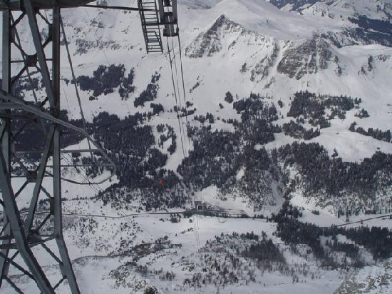 Gstaaderhof Swiss Quality Hotel: Diablerets-Glacier 3000 Gondola