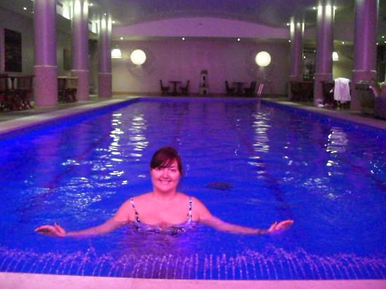 Haymarket Hotel: Me in the lovely hotel basement pool