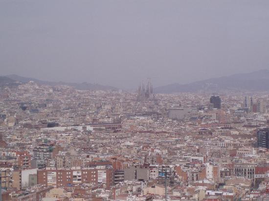 Barcelona, España: View from cable car