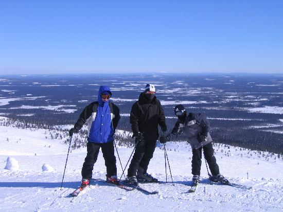 Lapland Hotel Saaga : top of the fell