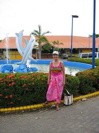 Bahia de los Delfines: Los Delfines main entrance