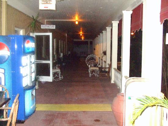 Porch at Cassadaga Hotel