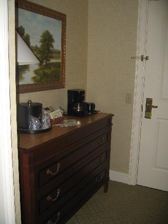 Dover Downs Hotel & Casino: Coffee Station at the door