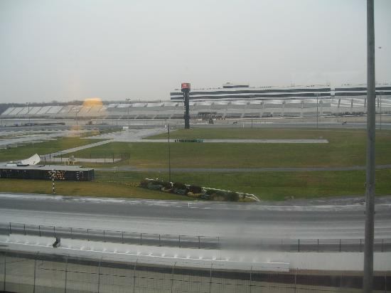 Dover Downs Hotel & Casino: View from our Room of the Race track