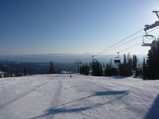 Trickle Creek Lodge: TOP OF THE QUAD