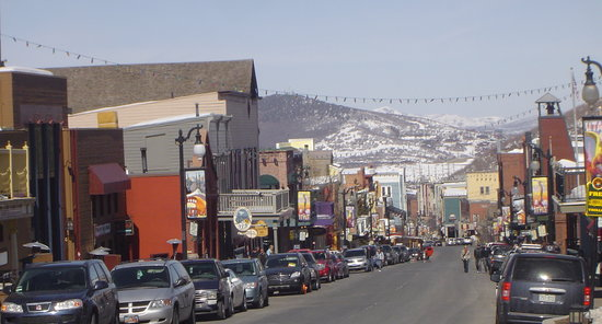 Park City, UT : PC Town's Main Street