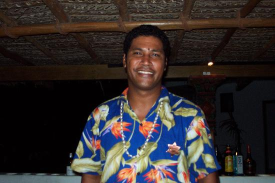 Navutu Stars Fiji Hotel & Resort: Noa -- the best bartender ever!!!