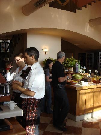 Scots Hotel: Restaurant