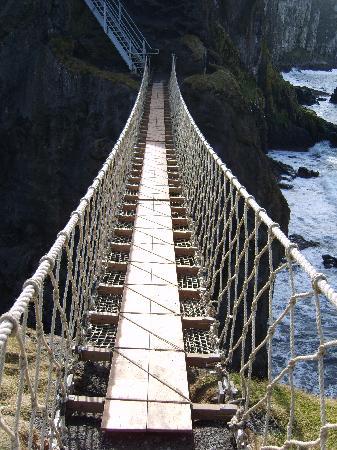 Antrim Coast Road: Rope Bridge - Carrick a rede