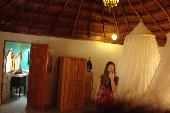 Organic Yoga Mexico: Shiva room