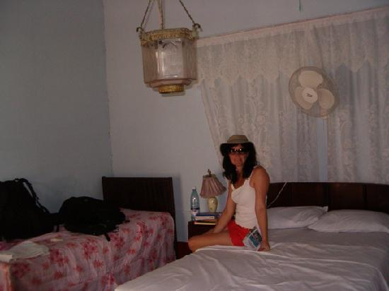 Hostal Maria Antonia Tellez : Our room (not a very good picutre of the room though)