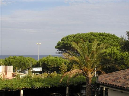 La Bastide : vue de notre balcon