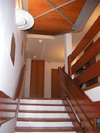 La Bastide : escalier