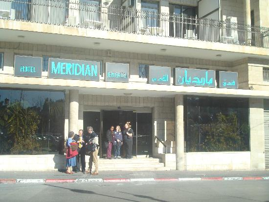 Jerusalem Meridian Hotel: Entrance