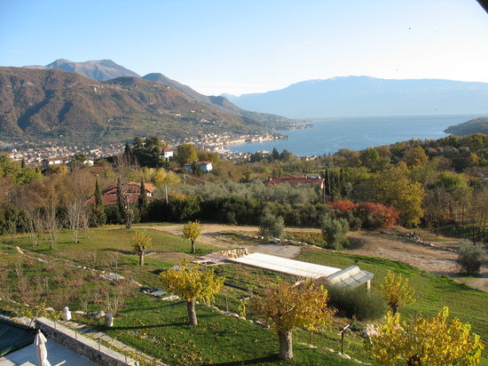 Salo, Italia: View from our window