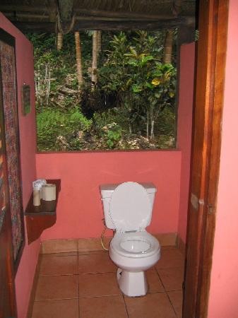 washroom with no privacy