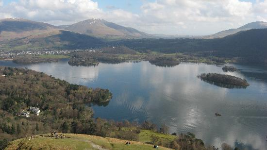 Highside Farm : The beautiful lakeland views and landscape