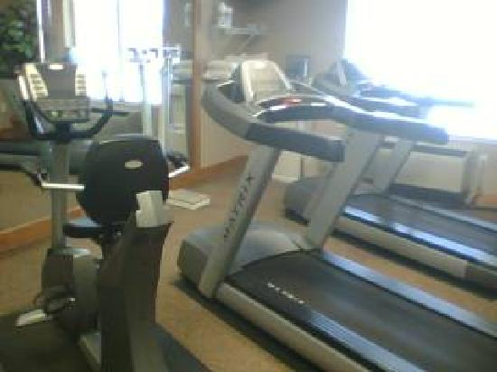 Holiday Inn Express Hotel & Suites Norfolk: Fitness room/workout center