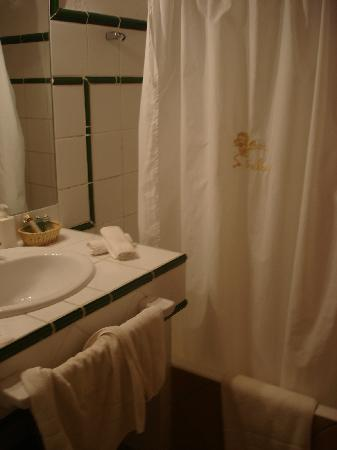 Boutique Hotel Sa Galera : Bad/Baño/Bathroom (old style)