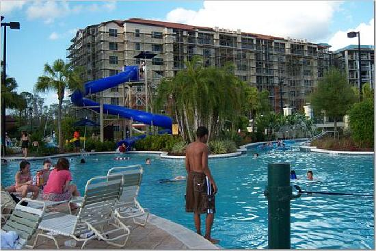 Water Park Area Picture Of Holiday Inn Club Vacations At Orange Lake Resort Kissimmee