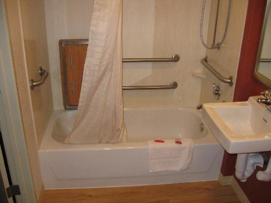 Red Roof Inn Tallahassee - University: Bath tub