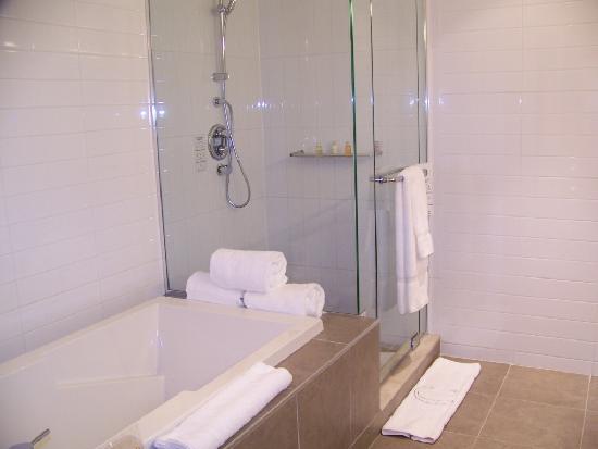 Hotel Le Crystal: crystal douche bain