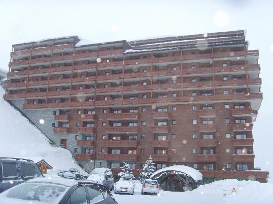 Residence Les Hauts Bois La Plagne - View from the balcony Picture of Pierre& Vacances Premium Residence Les Hauts Bois, Aime