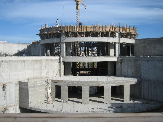 Cabo Azul Resort: Lobby Construction