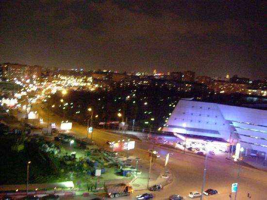 AZIMUT Moscow Olympic Hotel : view from 1151