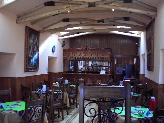 Amaru Hostal : Cafeteria