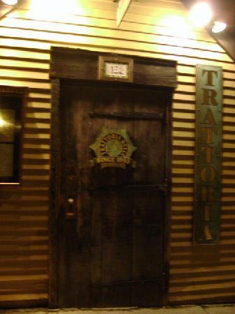 Trattoria Delia: The Trat Door
