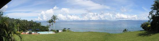 Taveuni Island Resort & Spa: View from the Dining Deck