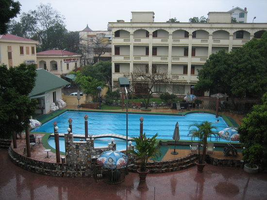 Army Guest House: Great pool, inner courtyard