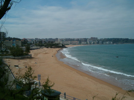Santander, Spanien: Playa del Sardinero - may 07