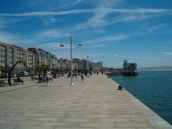 Santander, İspanya: Seafront