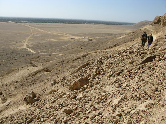 Dayr Mawas, Egypt: View from Tell El Amarna tomb site