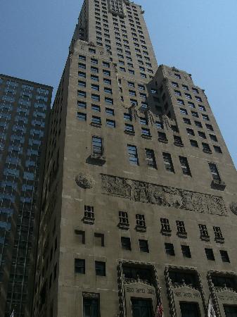 InterContinental Chicago: façade de l'hôtel - tour historique