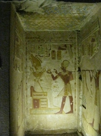 Inside Ramses II Temple Abydos