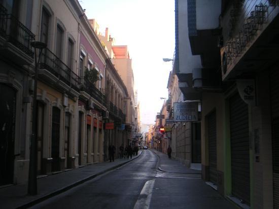 Hotel Sevilla: Granada street