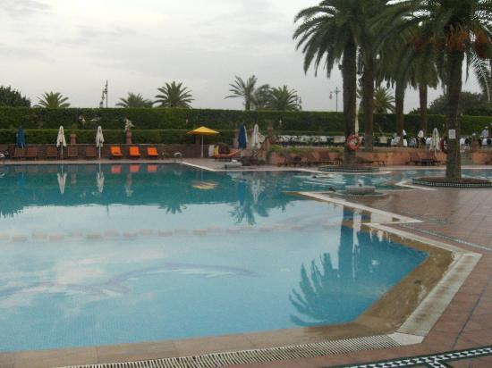 Sofitel Marrakech Lounge and Spa : piscine