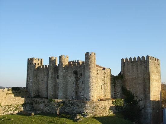 Obidos, Portugal : Óbidos Castle, Portuguese national monument