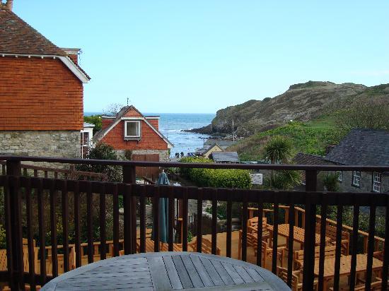 The Beach Hotel: View from veranda of room 21